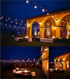 Beautiful Italian string lighting we will be doing for a customer this weekend