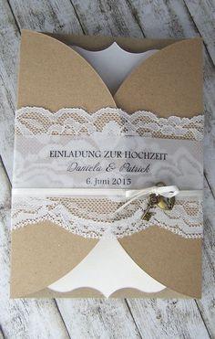 Kartenmanufaktur Arndt, Hochzeitseinladungen, Menükarten, Tischplan Hochzeit - ! VINTAGE !