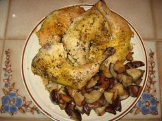 Simple Crock Pot Chicken and Potatoes.
