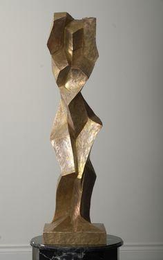 Oskar Höfinger - Kokette, Bronze