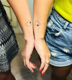 mini tattoos with meaning . mini tattoos for girls with meaning . mini tattoos with meaning for women Mini Tattoos, Cute Tattoos, Unique Tattoos, Unique Sister Tattoos, Awesome Tattoos, Black Tattoos, Small Tattoos For Guys, Small Wrist Tattoos, Tattoos For Daughters