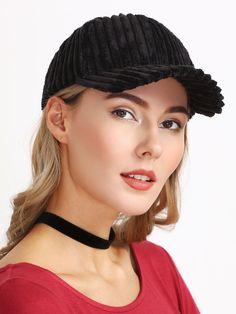 Gorra de pana-(Sheinside)