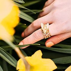 🌿🌼:: The Bee & Honeycomb Ring :: 🐝🌿 The lovely @aclotheshorse latest post is a burst of spring sunshine, featuring our classic Bee & Honeycomb ring! 💛  .  .  .  #BillSkinner #aclotheshorse #fblogger #styleblogger #style #beejewellery #beejewelry #daffodils #spring #blogger #jewellerydesign #bees #bumblebee #queenbee #honeycomb #fashionphotography #designer 📷 @aclotheshorse