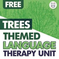 Enjoy this free mini themed unit all about TREES! This mini unit includes resources that directly targeting basic concepts, describing, WH questions, vocabulary, sentence combining, inferencing and predicting, story grammar, and MORE! In addition, there are Google Slides™️ versions of every worksheet included! And if you love this free unit, you will absolutely love this bundle of themed units. It's still growing so now is a great time to purchase - you get all future updates for free! Receptive Language, Wh Questions, Speech Therapy Activities, Grammar, Sentences, Vocabulary, Love You, Trees, The Unit