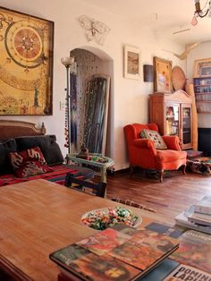beautiful+bohemian+interior+home+inspiration+3.jpg (450×600)