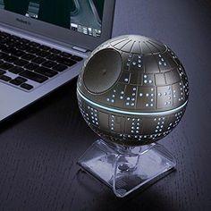 rogeriodemetrio.com: Star Wars Death Star Bluetooth Speaker