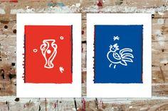SPORTHAUS SCHUSTER / Aktion zur Europameisterschaft 2016 / #europe # football #france / by Zeichen & Wunder, München Corporate Design, Schuster, Sport, Flag, Country, France, Action, Rural Area, Science