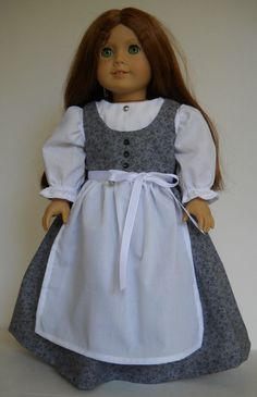 "Fits 18"" American Girl doll Austria Austrian folk dirndl clothes J (COSTUME ONLY #Handmade #ClothingShoes"