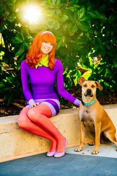 Daphne from Scooby-Doo Cosplay http://geekxgirls.com/article.php?ID=7065