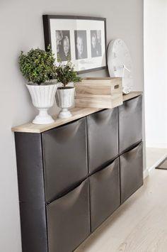 DIFERENTES USOS DEL ZAPATERO TRONES DE IKEA | Decorar tu casa es facilisimo.com