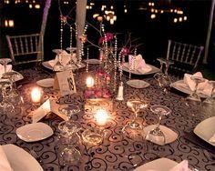 Arreglo de las mesas / Eeventi / Banquetes para boda