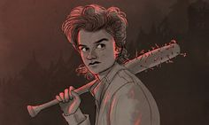 Steve (Stranger Things) by Sandra096.deviantart.com on @DeviantArt