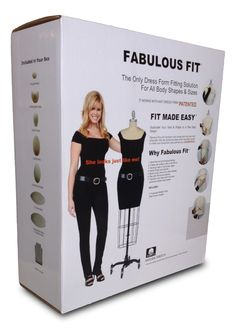 Just found this at #TheShopCompany - The Ultimate Dress Form Fitting Pad System by Fabulous Fit