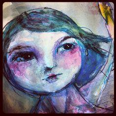 Jane Davenport - Art Journal pages http://www.janedavenport.com