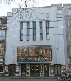 Rialto Cinema, Ceintuurbaan Beautiful movies that move people. - Rialto Cinema, Ceintuurbaan Beautiful movies that move people. Art Deco Design, E Design, Art Nouveau, Places Worth Visiting, Amsterdam Holland, Amsterdam Things To Do In, Art Deco Buildings, Home Theater Design, Art Deco