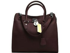MICHAEL KORS Hamilton Large Tote Chocolate - $75.00 : MK Outlet,Free Shipping On Online Store