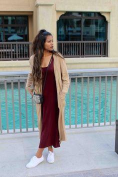 Идеальная пара: длинный кардиган с макси-платьем 7