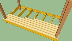 Installing decking boards