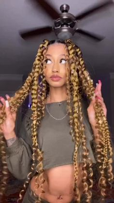 Big Box Braids Hairstyles, Braided Hairstyles For Black Women Cornrows, Braids Hairstyles Pictures, Faux Locs Hairstyles, Twist Braid Hairstyles, Baddie Hairstyles, African Braids Hairstyles, Girl Hairstyles, Protective Hairstyles