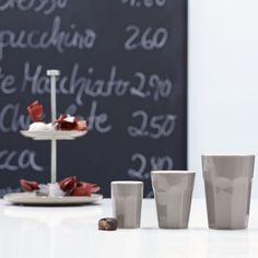 "ASA Selection ""crazy mugs"" Café Latte Becher beton 470 ml"