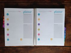diy planner with links to free printables.