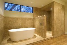 enclosed shower no glass