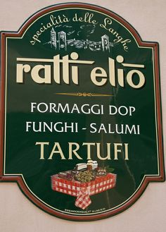 Alba, Via Vittorio Emanuele II., Ladenschild (shop sign) | Flickr: Intercambio de fotos