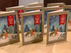 Stampin Up Christmas, Christmas Crafts, Xmas Cards, Holiday Cards, Stamping Up Cards, Rubber Stamping, Christmas Moose, Christmas Catalogs, Animal Cards