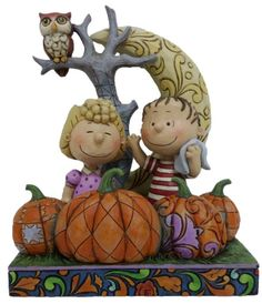 Jim Shore Peanuts Great Pumpkin - new for 2014