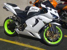 Kawasaki ninja ZX6R 636 Kawasaki Ninja 300, Kawasaki Motorcycles, Triumph Motorcycles, Custom Motorcycles, Fast Go Karts, Ninja Bike, Custom Sport Bikes, Kawasaki Zx10r, Power Bike