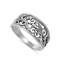 VE-01018 Sterling Silver 10mm Wide Filigree Band Ring (6) Jinique http://www.amazon.com/dp/B00P86Q4Z6/ref=cm_sw_r_pi_dp_iaUewb0FRFA19