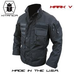 Lots of pockets for weapon and cool design. Apocalypse in style. Kitanica Mark V…