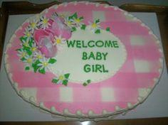 Baby Girl Baby Shower Cakes | Baby Shower Cakes for Girls