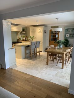 Neptune Kitchen, Open Plan Kitchen Diner, Home Kitchens, Kitchen Dining, Nest, Kitchen Ideas, Family Room, Interiors, How To Plan