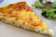 Recette Tarte aux oignons - Recette Plat Pizza, Food And Drink, Cheese, Breakfast, Quiches, Grands Parents, Saint Jacques, Beignets, Four