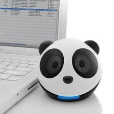 Panda computer speakers