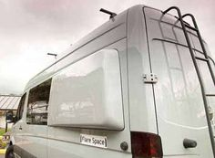 Sprinter camper van with Flarespace