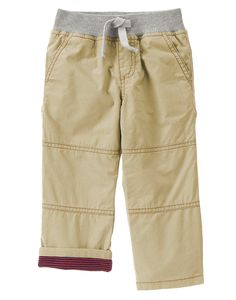 Lined Pull-On Pants at Crazy 8 $13.92