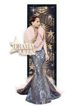 """Drama Queen: Louise Brooks"" by autocue ❤ liked on Polyvore featuring art and modern"