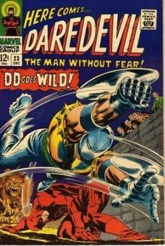Daredevil #23, DD Goes Wild!, Vintage Marvel Comics c.1966