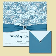 Indian Wedding Invitation Card Design 56 Cover