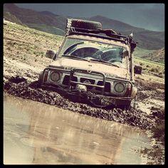 Off road in by Adventure 4x4, Patrol Gr, Nissan 4x4, Jimny Suzuki, Car Tattoos, Nissan Patrol, Jeep 4x4, Dream Machine, Bolivia Travel