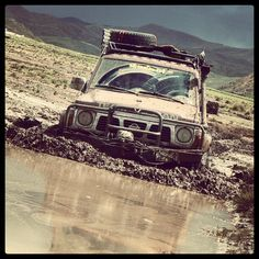 Nissan Patrol mud