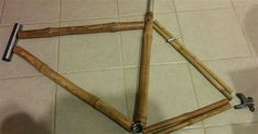 This Awesome #Bike Is Actually Made Of #Bamboo #DIY