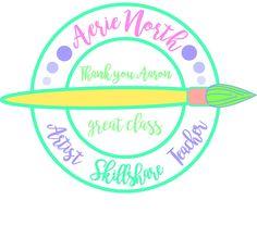 This was a fun class project! Thank you Aaron! Circular Logo, Class Teacher, Simple Shapes, Circle Design, Tribal Art, Logo Design, Round Logo