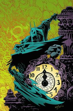 Batman: Gotham after Midnight – Kelley Jones Dc Comics, Batman Comics, Im Batman, Batman Art, Nightwing, Batgirl, Comic Book Characters, Comic Books Art, Batman Beyond