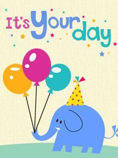 kids birthday cards free