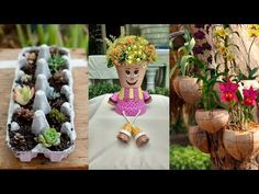Clay Pot People Part 1 - YouTube