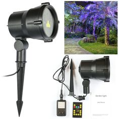 74.31$  Watch now - http://alidu4.worldwells.pw/go.php?t=32774458112 - Christmas  Waterproof Garden Light Star Projector LED Tree Firefly Landscape Laser Light with Wireless Remote Control