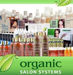 How Organic Salon Products are taking over the salon industry. #salonproductstotry